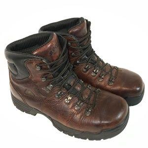 "Rocky Men 6"" MobiLite Steel Toe Work Boots Sz 10 M"